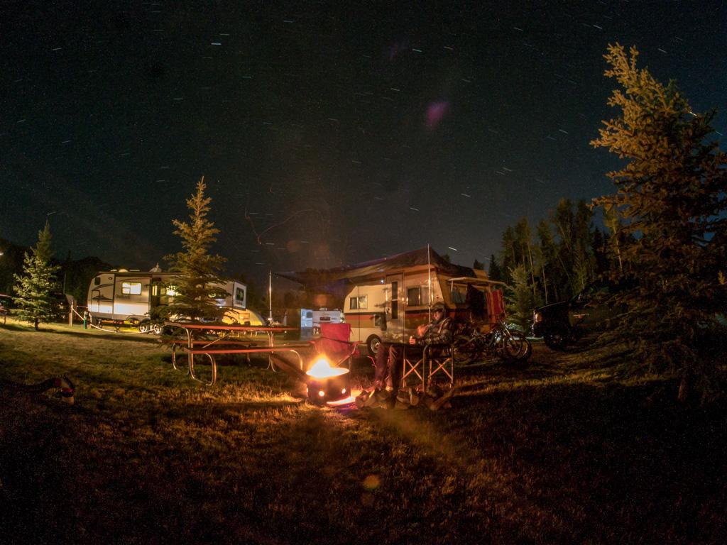 Fernie - Campsite